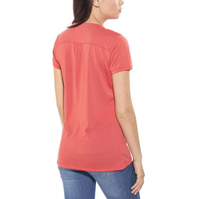 Maloja HalfingM. Multi Short Sleeve Jersey Women vintage red